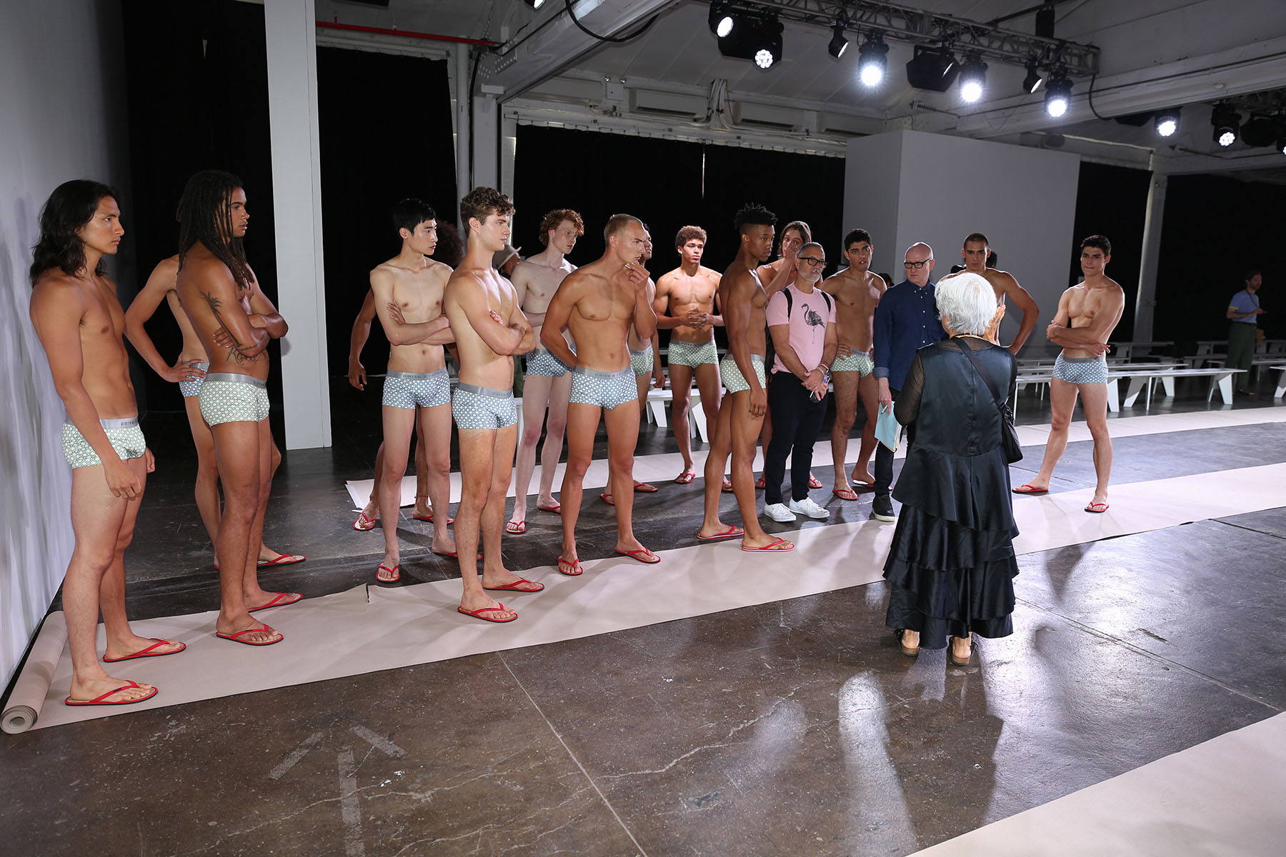 THE BOYS AT PARKE AND RONEN SPRING SUMMER 2019