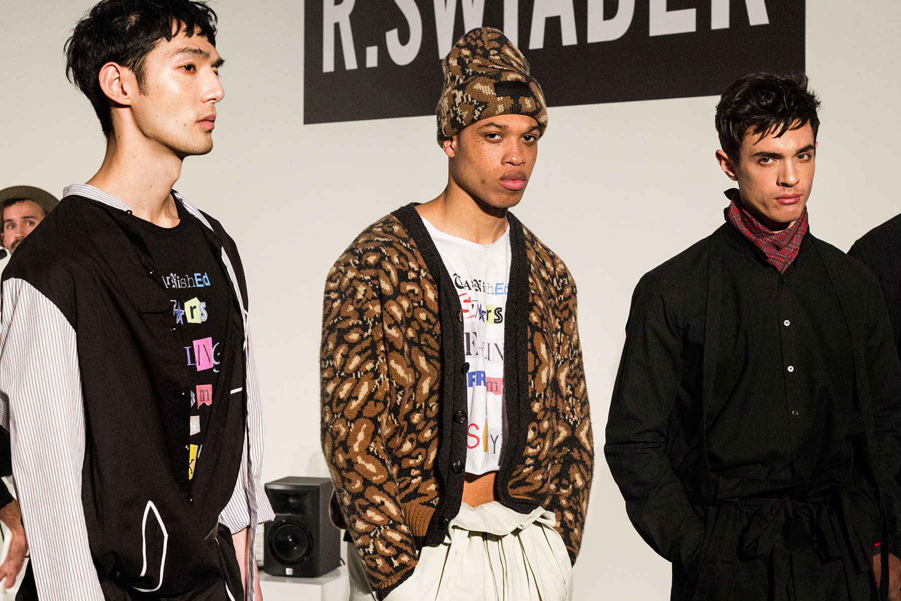 R. SWIADE FW2017 FALL WINTER NYFW MEN'S