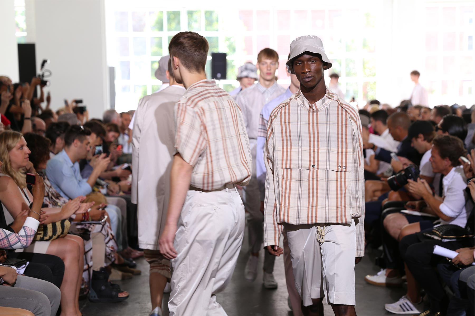 DUCKIE BROWN S/S2015 New York Fashion Week