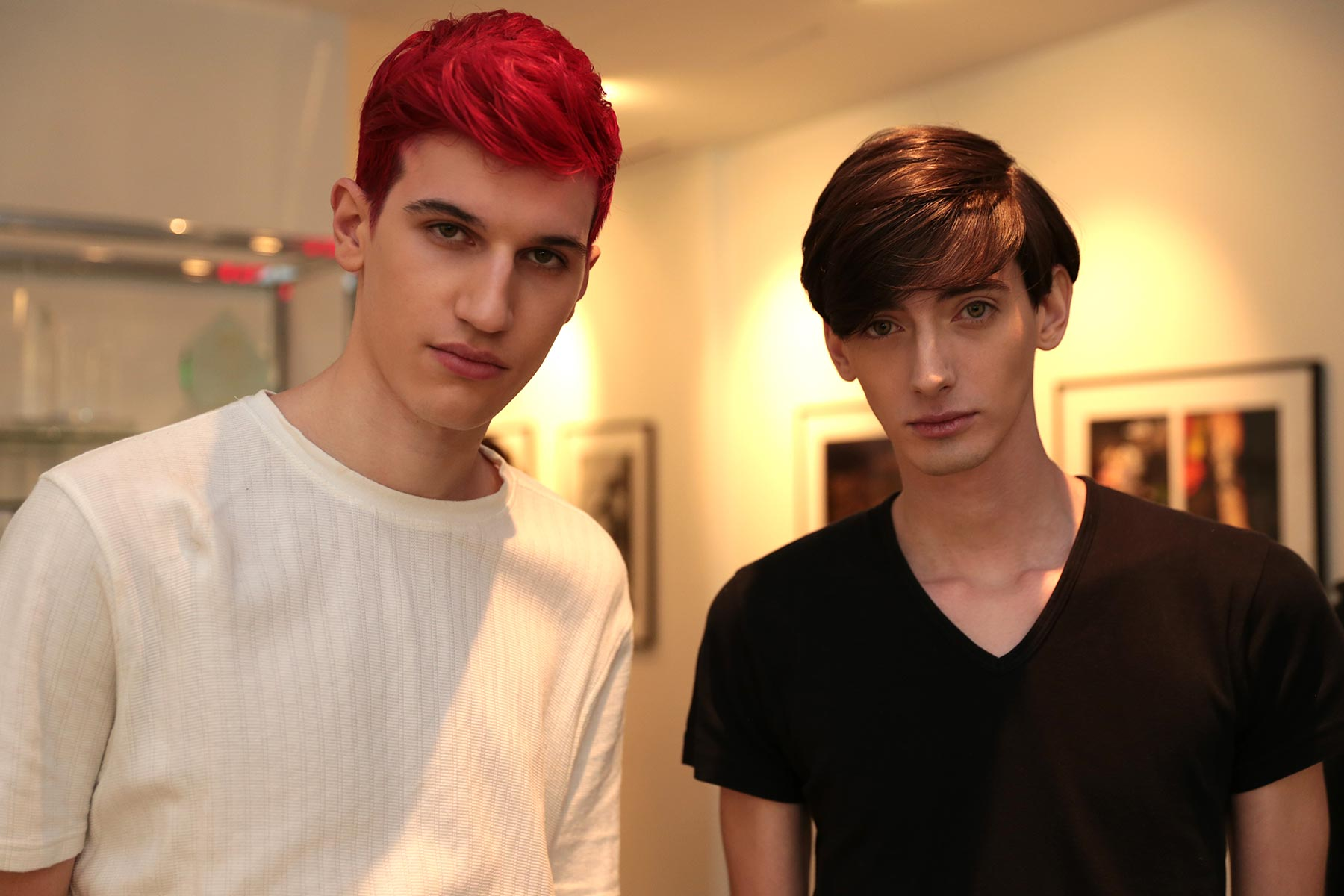 Behind the scenes at RICARDO SECO S/S 2015 New York Fashion Week